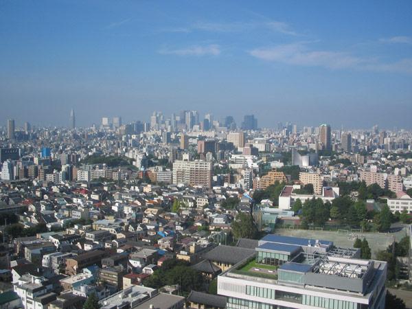 View of Shinjuku
